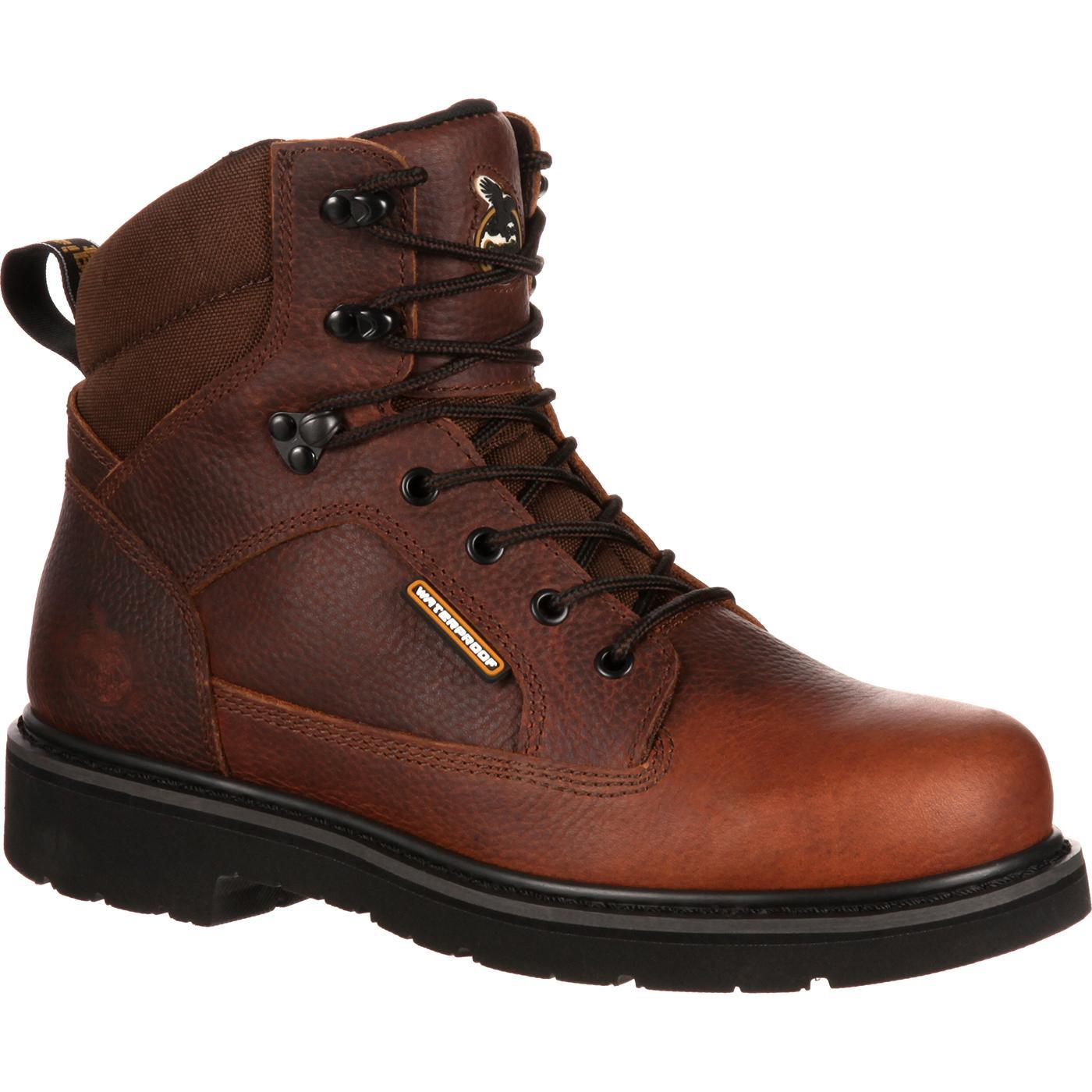 work boots georgia boot glennville waterproof work boot, , large ELALITI