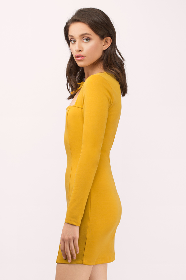 Great yellow dresses for all days