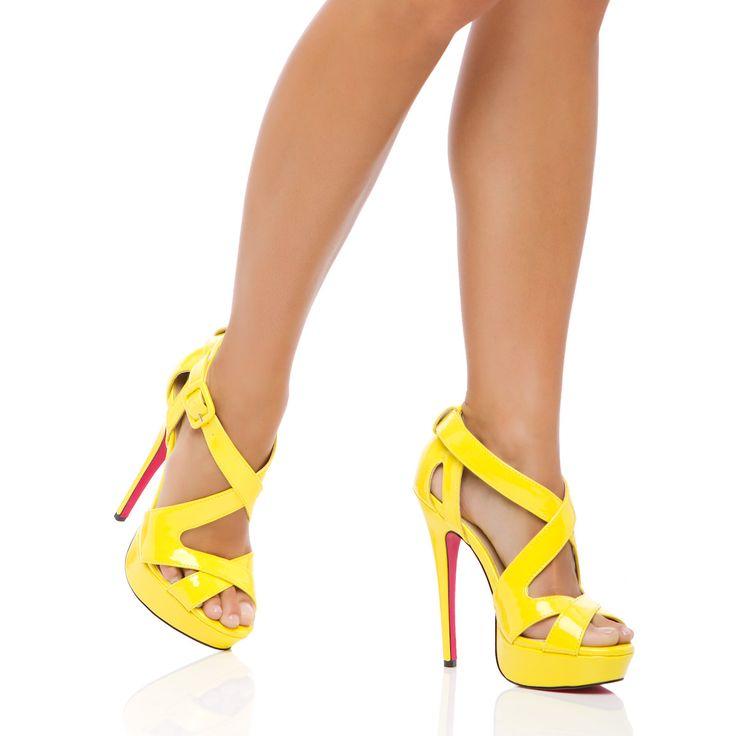 yellow heels liya NIVZKSD
