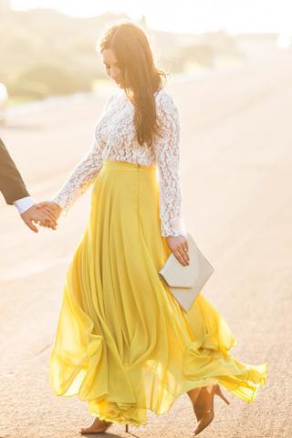 yellow skirt amelia full yellow maxi skirt SQUMRBH