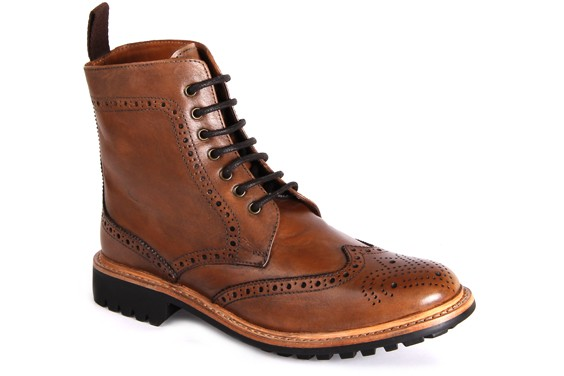 york goodyear welted brogue boots CQVLCJC
