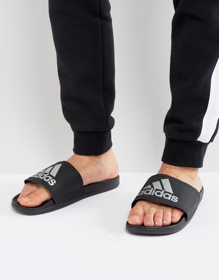... adidas adilette cf sliders in black s79352 ... OHOLMNA