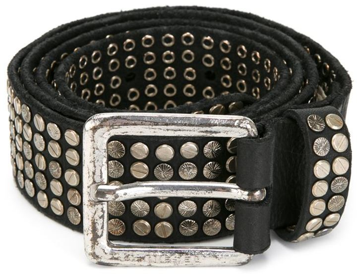 ... diesel studded belt CXGLNVD