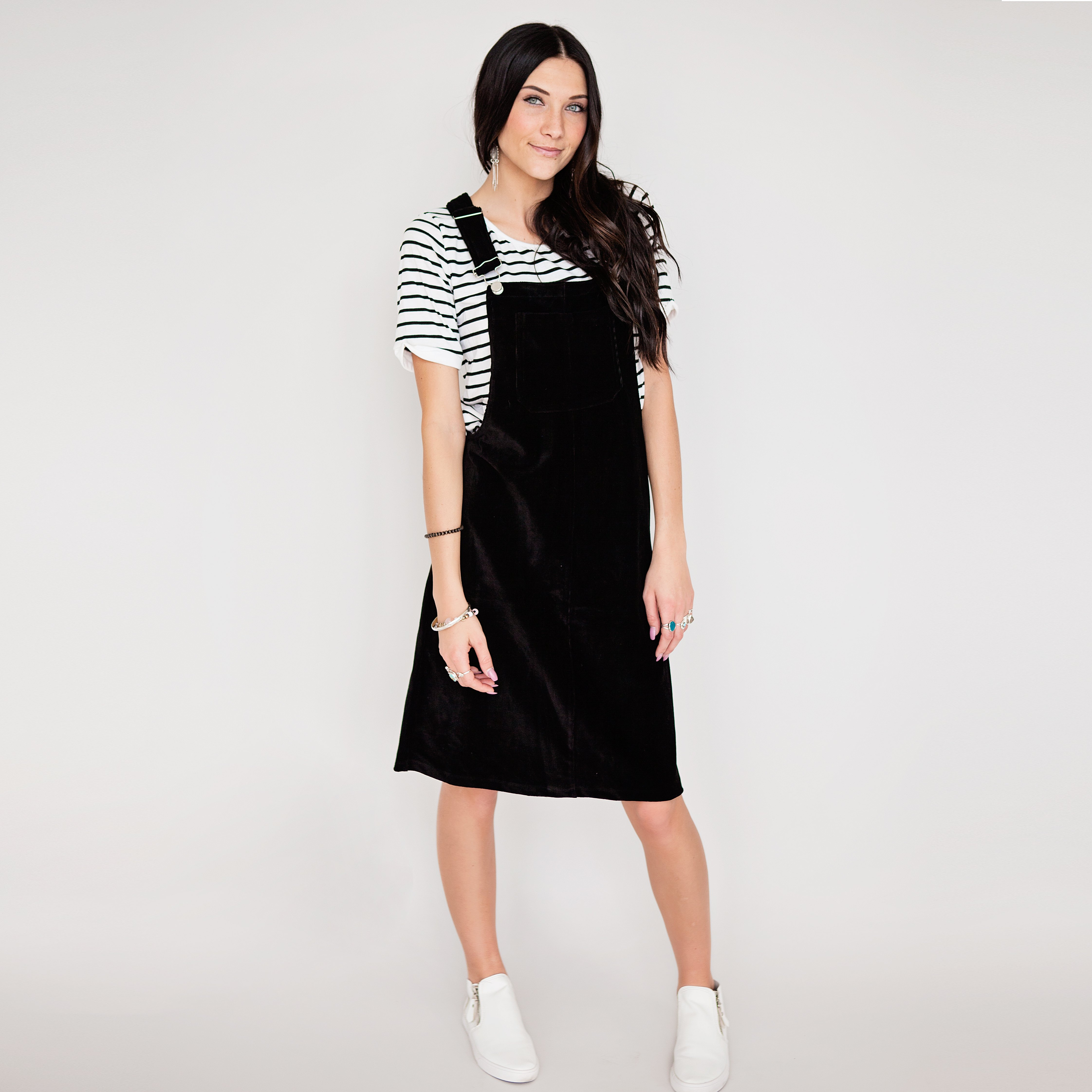 The comfort of a jumper dress