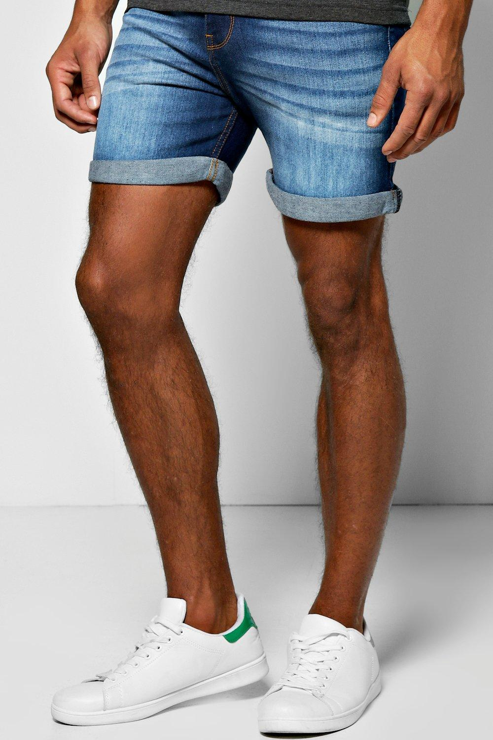 12 short skinny denim shorts for men MKPBISN
