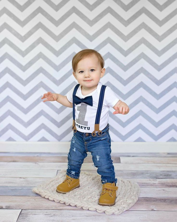 1st birthday outfit for boys boy first birthday outfit, 1st birthday ideas, first birthday photos, jeans  and suspender set CQGJIEA