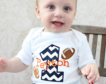 1st birthday outfit for boys first birthday outfit boy personalized baby boys first birthday outfit cake  smash football baby VKRVOHY