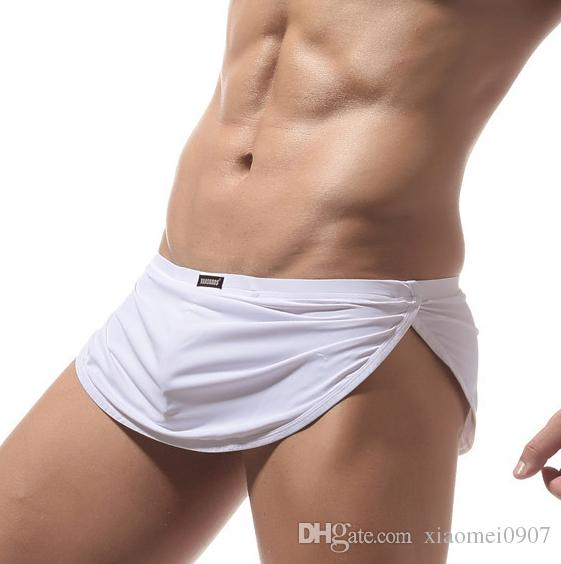 2018 mens underwear boxer gay man arrow thongs inside home pants sexy  lingerie boxers HESAPRT