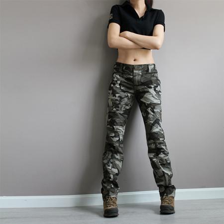 2018 new fashion plus size camouflage trousers camo pants for women cargo  pants womenu0026man QKKQXSG