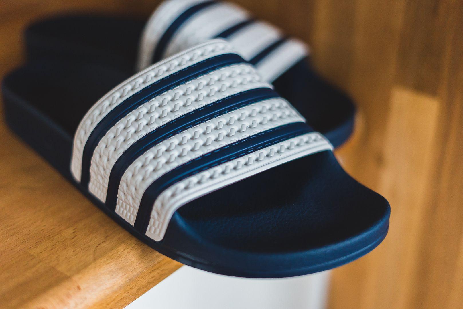 adidas adilette ... adidas - adilette (blue / white) - g16220 RJHLDVT