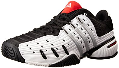 adidas barricade adidas performance menu0027s barricade v classic tennis shoe, ftwr  white/silvmt/cblack, ERFBSEP