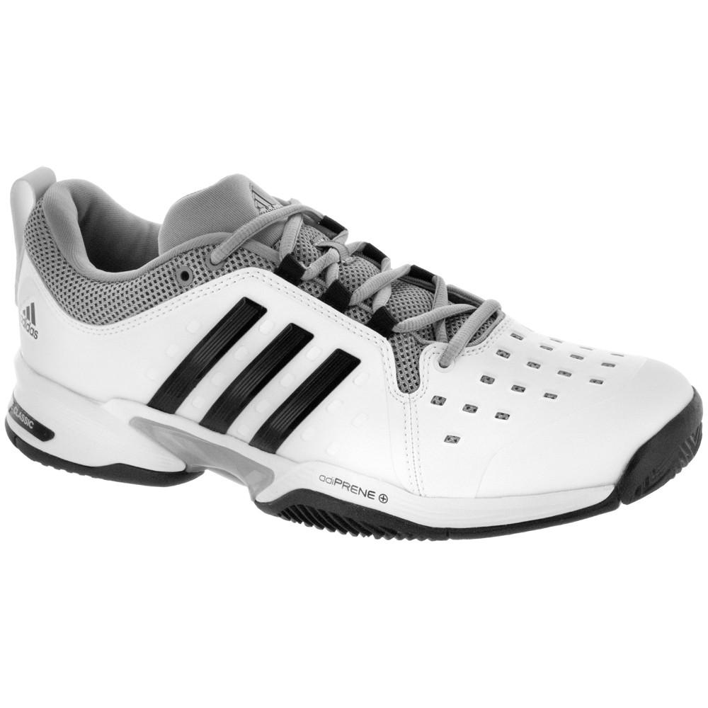 adidas barricade classic wide menu0027s white/black/grey | holabird sports YDHYTWF