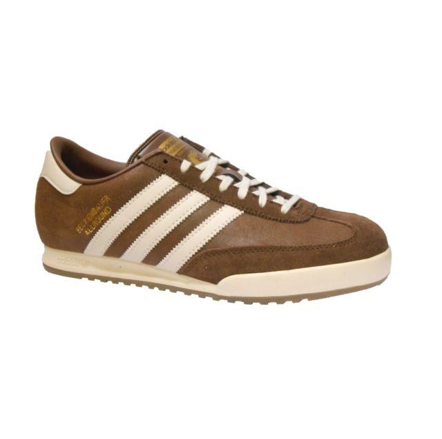 adidas beckenbauer allround adidas beckenbauer mens trainer shoe size 7 - 12 browns rrp £70/- NMBDEXC