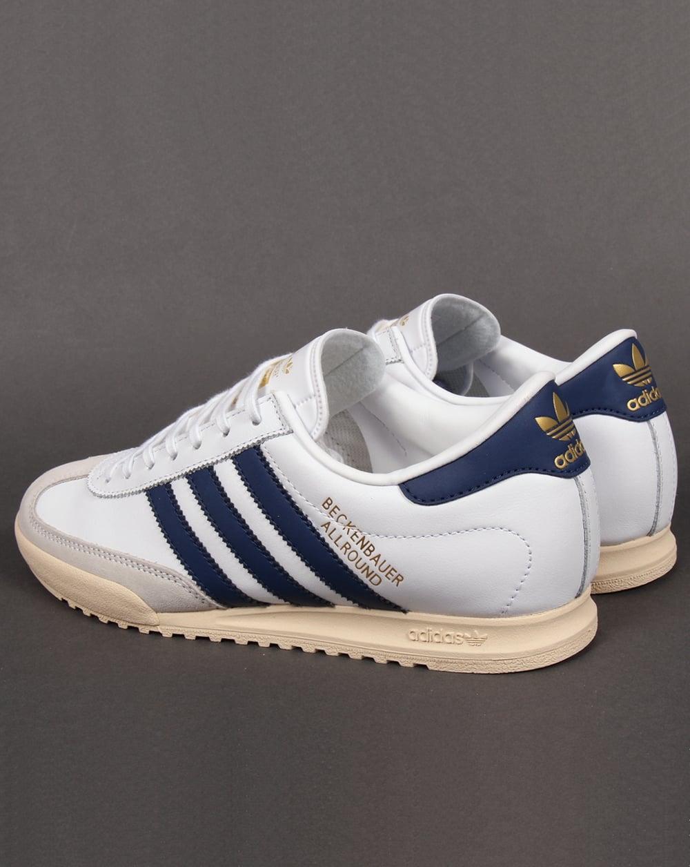 adidas beckenbauer allround adidas beckenbauer trainers white/navy/gold XPLSFTX