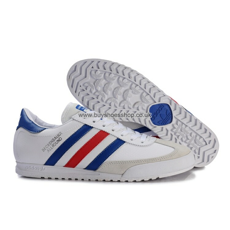 adidas beckenbauer allround new adidas originals beckenbauer allround men white/blue/red trainers shoes FYBMSUY