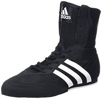 adidas boxing shoes adidas box hog 2 junior boxing boots, black, us8.5 RQAHPCA