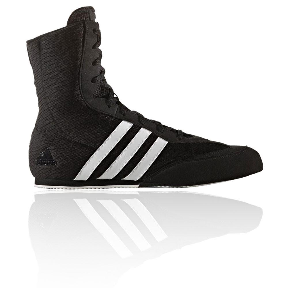 adidas boxing shoes adidas-box-hog-mens-black-boxing-sports-shoes- RCZLEMZ