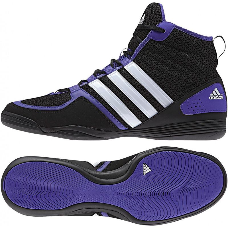 adidas boxing shoes adidas boxfit 3 mens boxing shoes - black FMBVZUZ