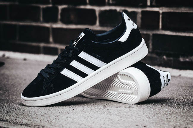adidas campus 80s black white XWEDGQU