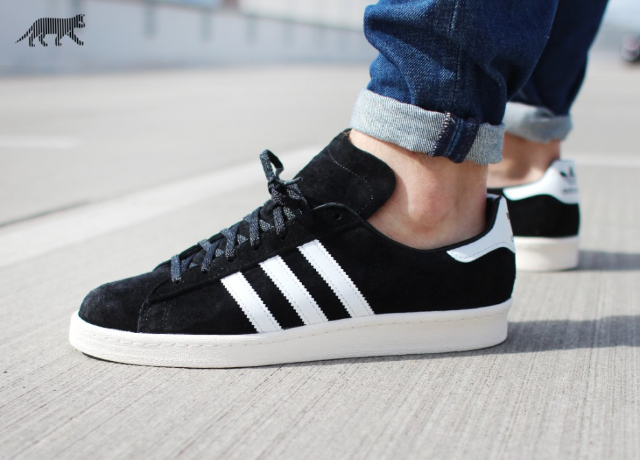 adidas campus 80s (core black / owh) YJUJHXI