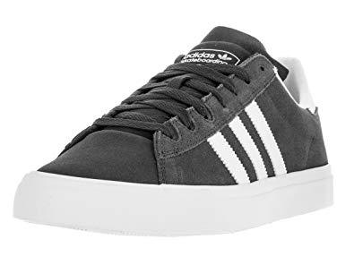 adidas campus vulc adidas menu0027s campus vulc ii adv dgsogr/ftwwht/ftwwht skate shoe 8 men us LYLYMUN