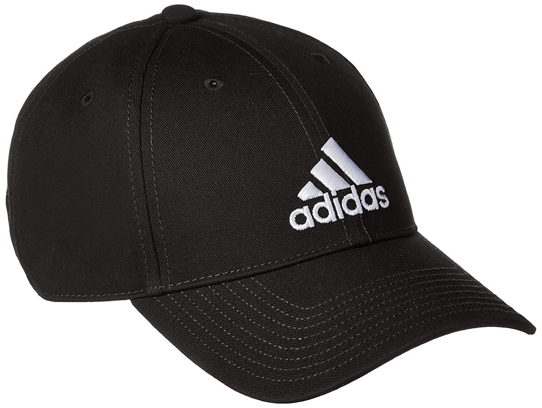 adidas cap adidas men classic six-panel cap - black/black/white, one size:  amazon.co.uk: sports u0026 SBDRYCA