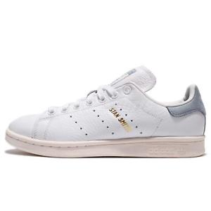 Adidas Classic image is loading adidas-originals-stan-smith-white-blue-leather-men- VCHSCPD