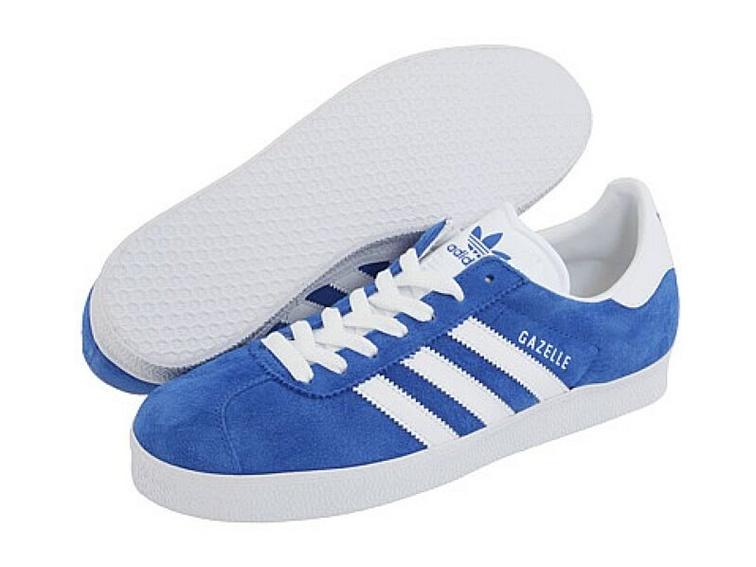 adidas classic shoes adidas originals gazelle ii indoor soccer shoes (royal blue/white) RXRCBEW