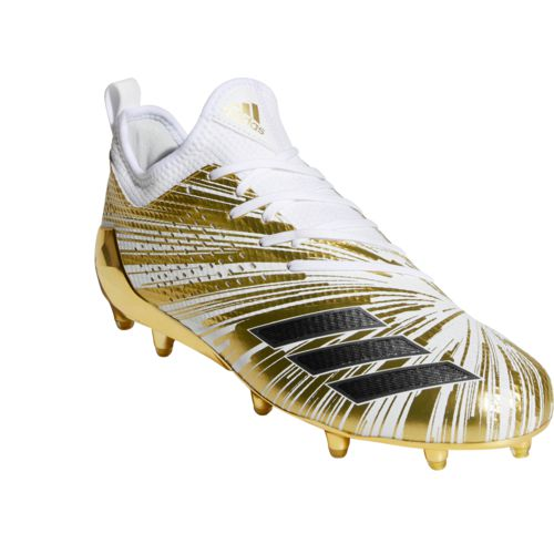 adidas cleats ... adidas menu0027s adizero 5-star 7.0 metallic football cleats - view number TCBJCBX
