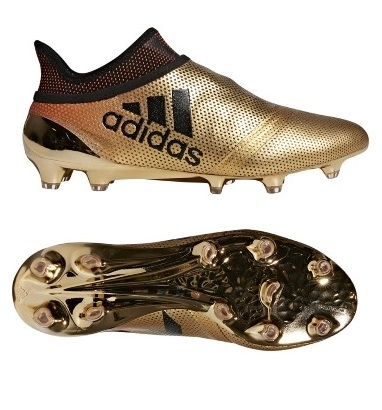 adidas cleats adidas x 17+ fg firm ground soccer cleats gold-black CXYMNEK