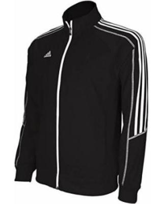 adidas climalite select mens training jacket black/white l OOJBXAA
