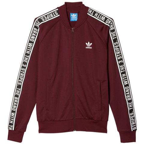 adidas clothing adidas maroon track jacket adidas BUQLHGH