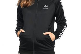 adidas clothing adidas supergirl black track jacket ... URWXODN