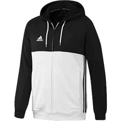 adidas clothing adidas t16 mens hooded sweatshirt black MBRDZWX