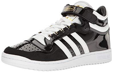 adidas concord adidas originals menu0027s shoes | concord ii mid fashion sneakers,  black/white/metallic CHWMLSS