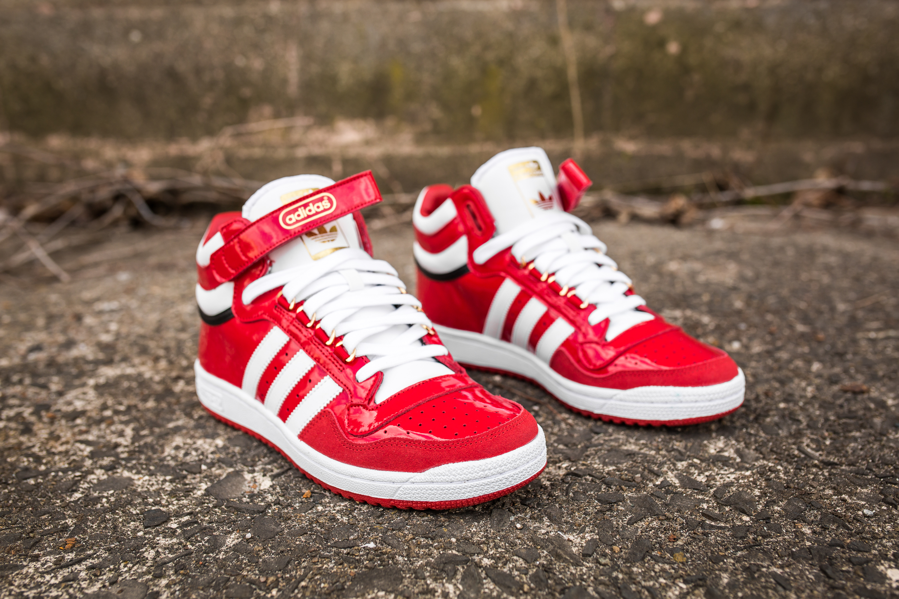 adidas concord ii mid red TRDYHGO