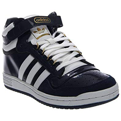 adidas concord new mens adidas originals concord ii mid patent-leather (8 d(m) TILOYZR