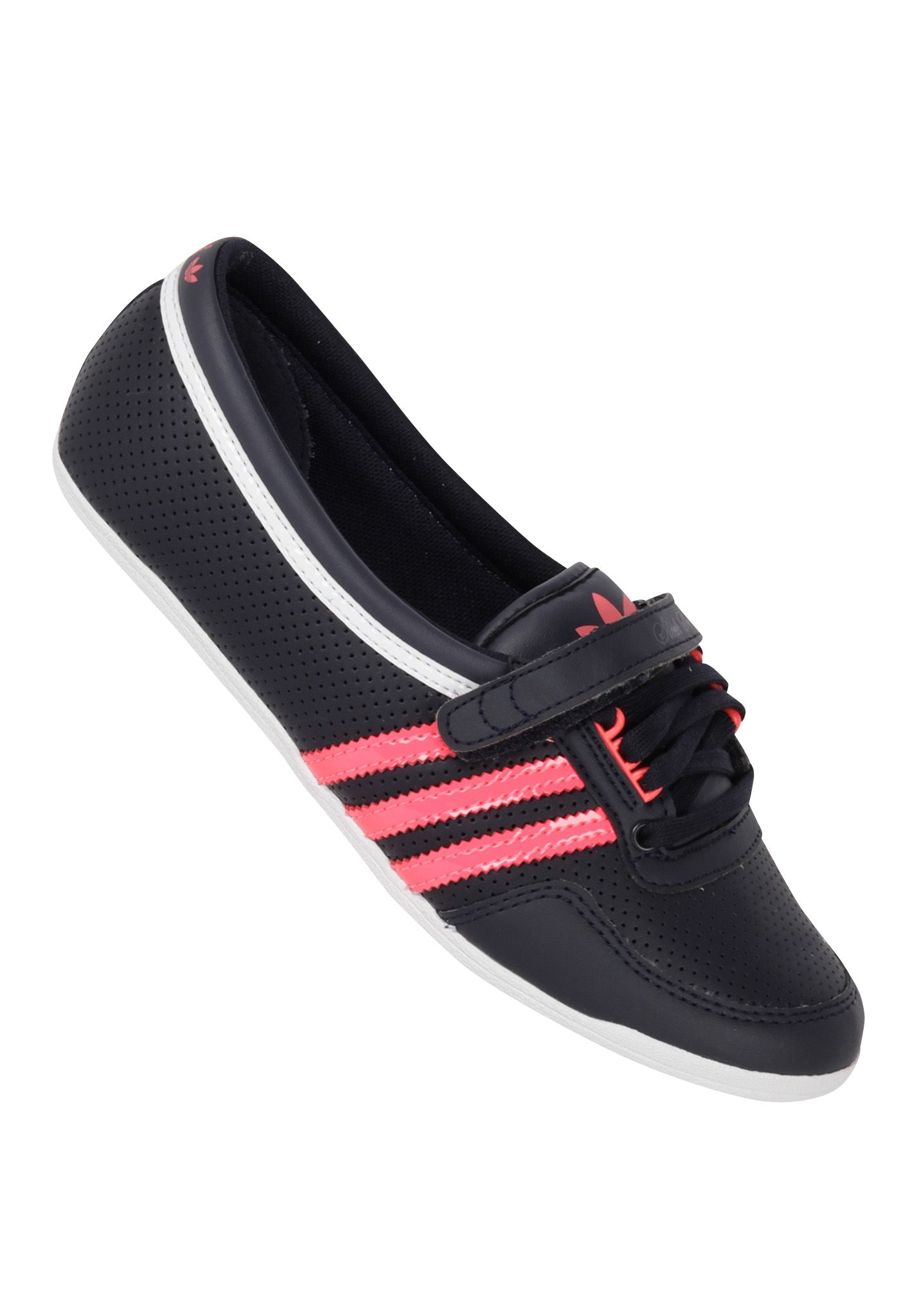 adidas concord round - ballerina shoes for women - black - planet sports IMILSNK