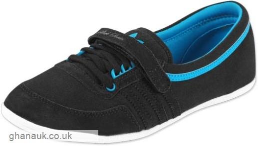 adidas concord round black blue shoes VFOJJWU