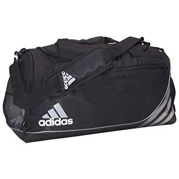 adidas duffle bag amazon.com: adidas team speed medium duffel bag, black: sports u0026 outdoors JRACBZH