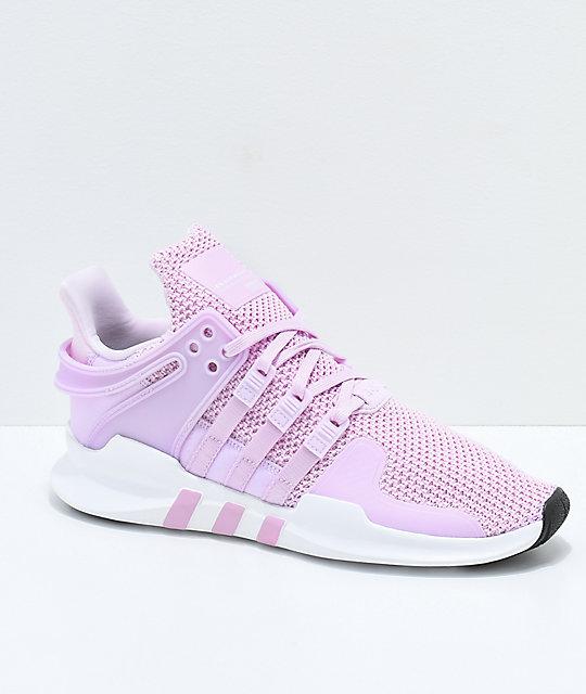 adidas eqt support adv pink u0026 white shoes ... ZAHHAMV