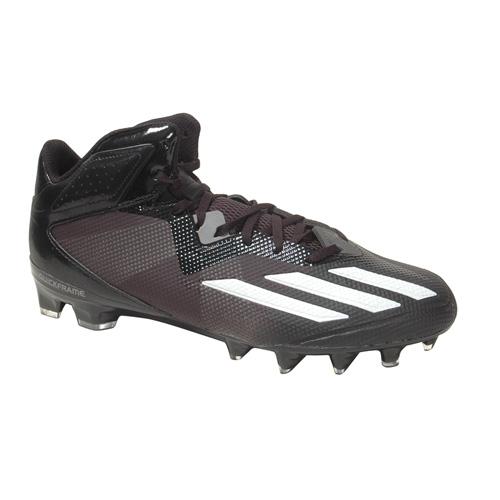 adidas football cleats adidas dual threat mid football cleat - footwear PQSWHUG