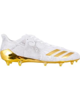 adidas football cleats adidas menu0027s adizero 5-star 6.0 money football cleats, size: 5, white UUFTVCF