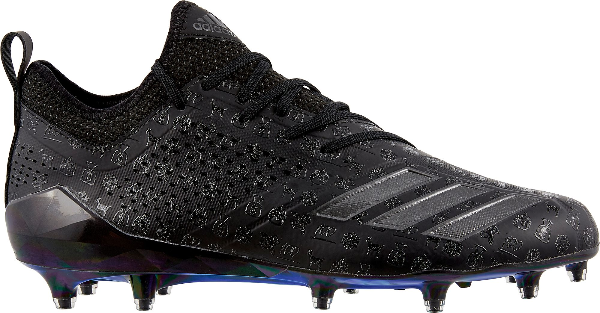 adidas football cleats adidas menu0027s adizero 5-star 7.0 adimoji football cleats | dicku0027s sporting  goods TUPRDLZ