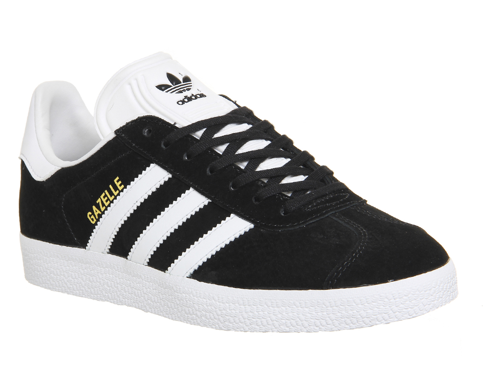 adidas gazelles adidas gazelle core black white - his trainers ZYEMLCV