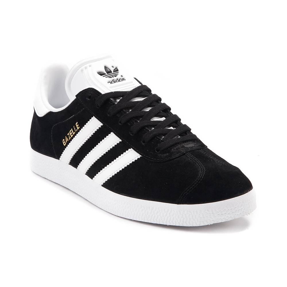 adidas gazelles alternate view: womens adidas gazelle athletic shoe - black/white ... WPCENBT