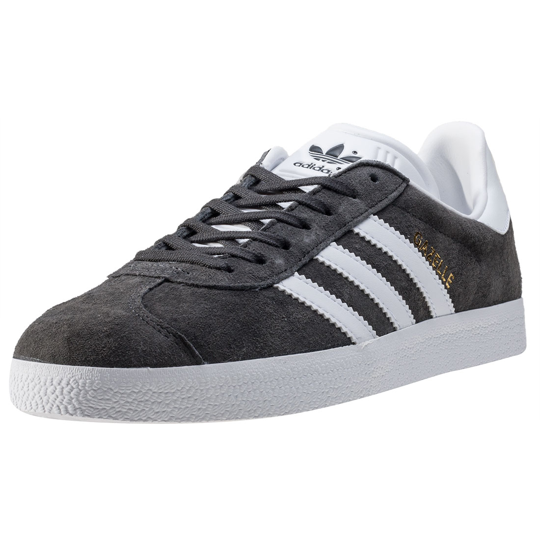 adidas gazelles image is loading adidas-gazelle-womens-trainers-dark-grey-new-shoes HHDKQAF