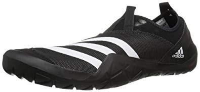 adidas jawpaw adidas outdoor menu0027s climacool jawpaw slip-on water shoe,  black/white/utility XQOOTYT
