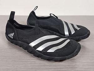 adidas jawpaw image is loading adidas-jawpaw-slip-on-water-sneaker-black-amp- OFQQSLG