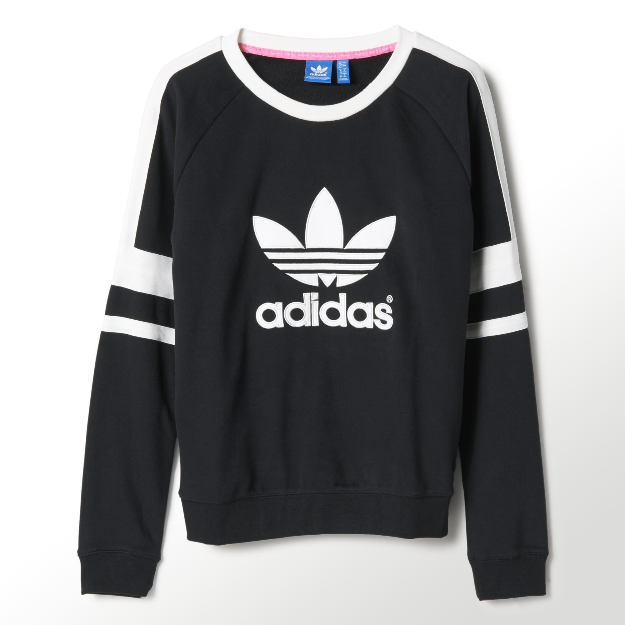 adidas jumper adidas - logo crew sweatshirt VZGPBBL